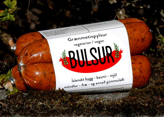 Grænmetispylsur - Vegetable sausage